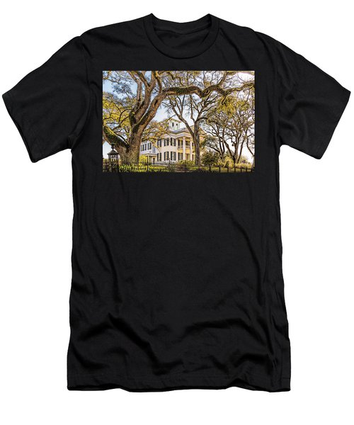 Antebellum Mansion Men's T-Shirt (Athletic Fit)