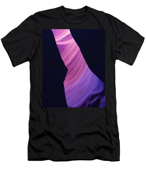 Antelope Canyon 10 Men's T-Shirt (Slim Fit) by Jeff Brunton