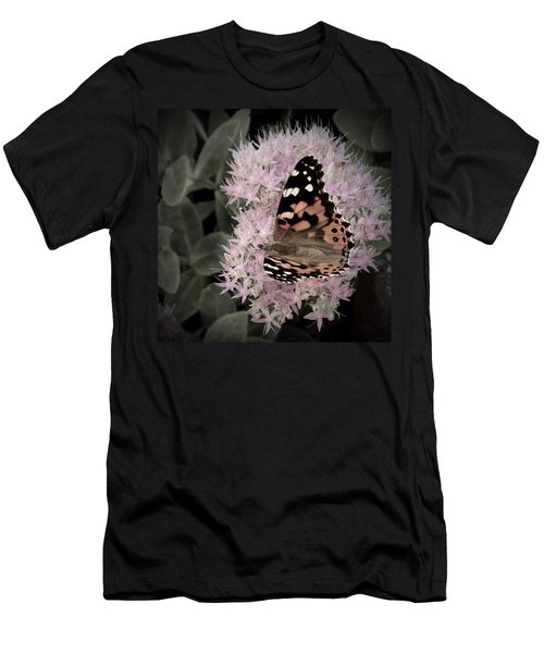Men's T-Shirt (Slim Fit) featuring the photograph Antique Monarch by Photographic Arts And Design Studio