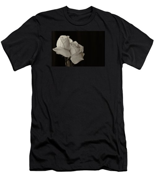 Antique Roses Men's T-Shirt (Athletic Fit)
