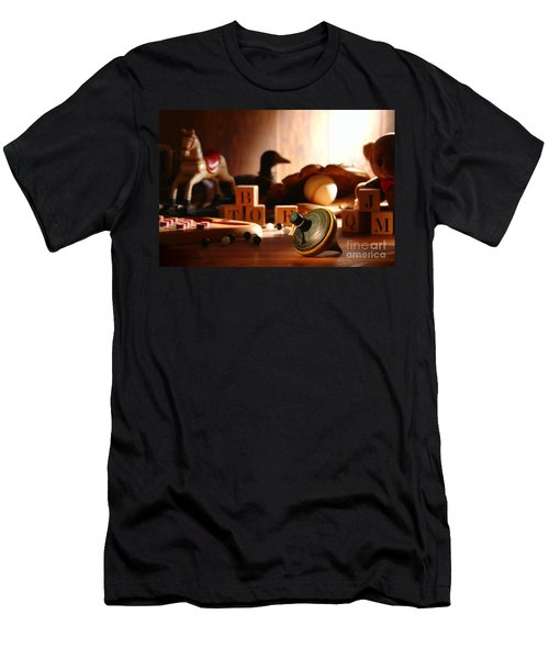 Antique Spinning Top Men's T-Shirt (Athletic Fit)