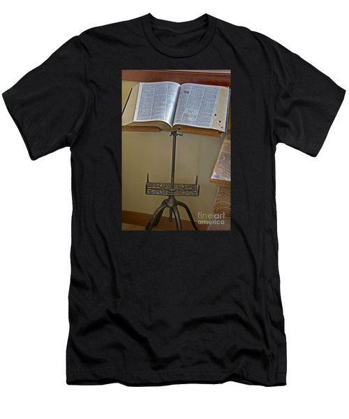 Antique Still Life Reading Stand Men's T-Shirt (Athletic Fit)