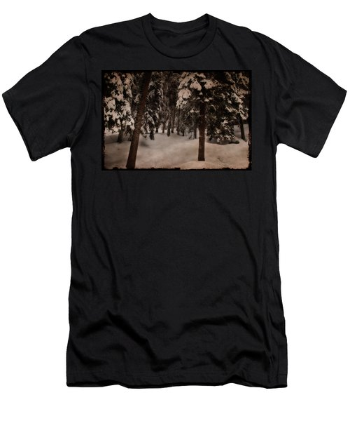Antique Woodscape Men's T-Shirt (Athletic Fit)