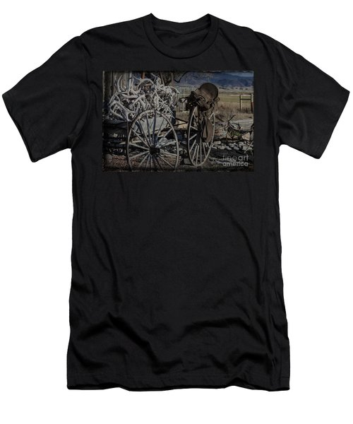 Antlers And My Saddle Men's T-Shirt (Athletic Fit)
