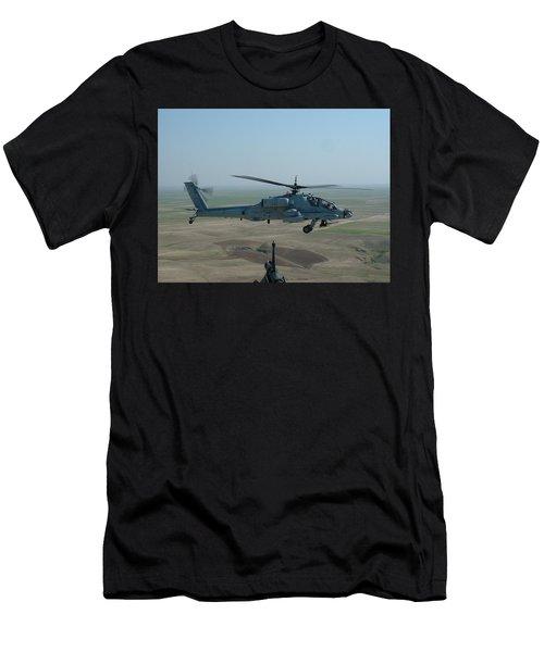 Apache Gray Men's T-Shirt (Athletic Fit)