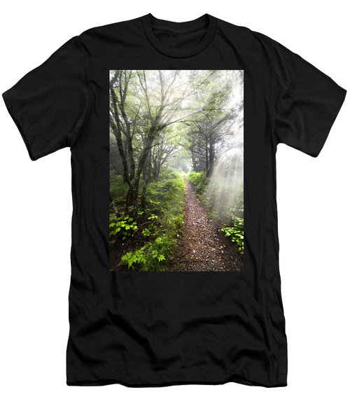 Men's T-Shirt (Athletic Fit) featuring the photograph Appalachian Trail by Debra and Dave Vanderlaan
