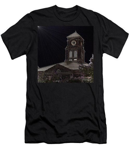 Appanoose County Courthouse Men's T-Shirt (Athletic Fit)