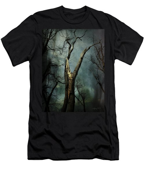 Men's T-Shirt (Slim Fit) featuring the photograph Appeal To The Sky by Cynthia Lassiter