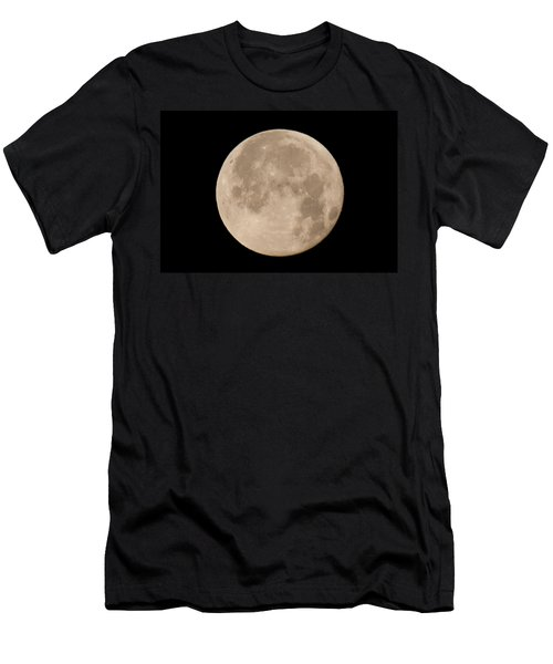 April Moon Men's T-Shirt (Slim Fit) by John Black