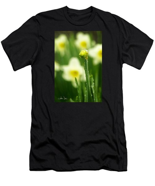 April Showers Men's T-Shirt (Athletic Fit)