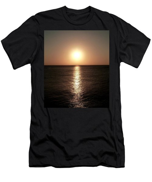 Men's T-Shirt (Slim Fit) featuring the photograph April Sunset by Amar Sheow