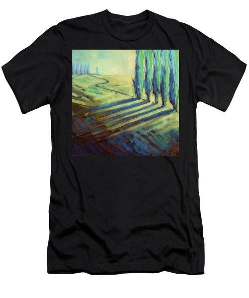 Aqua Men's T-Shirt (Athletic Fit)