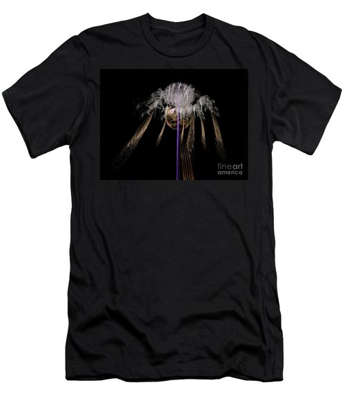 Men's T-Shirt (Athletic Fit) featuring the digital art Arachnophobia #2 by Russell Kightley