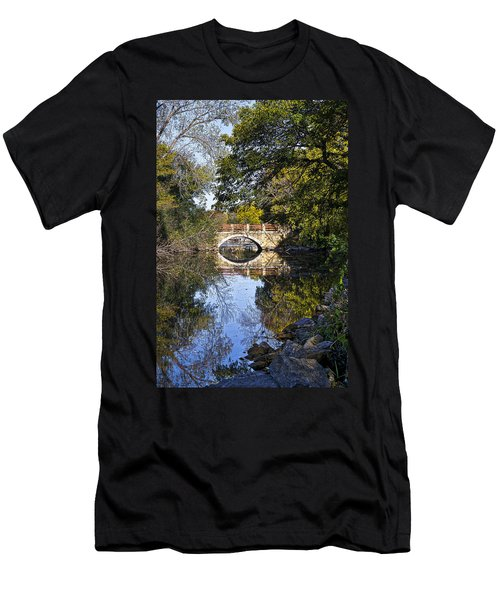 Arboretum Drive Bridge - Madison - Wisconsin Men's T-Shirt (Athletic Fit)