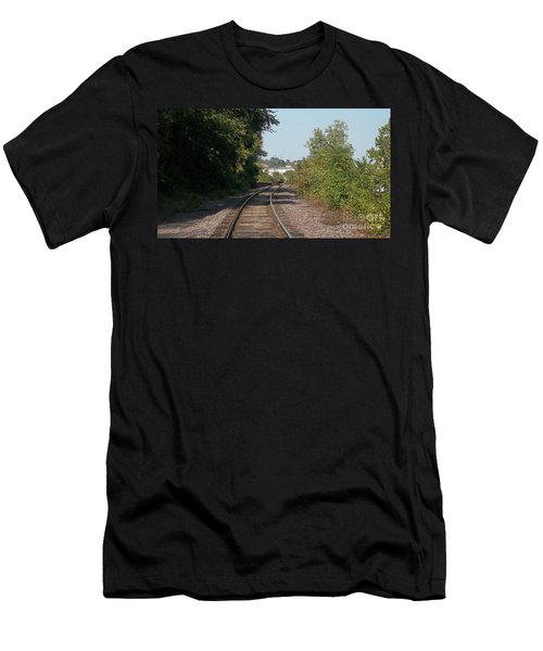 Men's T-Shirt (Slim Fit) featuring the photograph Arch In The Distance by Kelly Awad