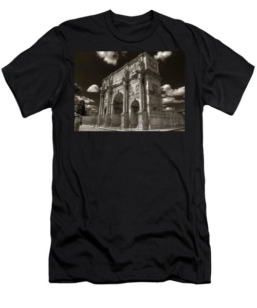 Arch Of Constantine Men's T-Shirt (Athletic Fit)