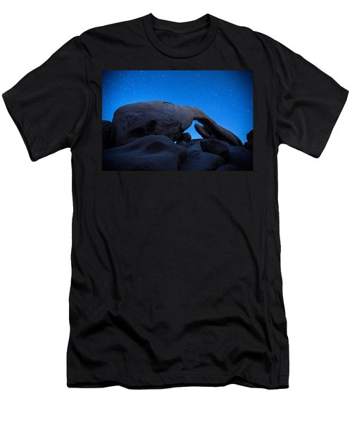 Arch Rock Starry Night 2 Men's T-Shirt (Athletic Fit)