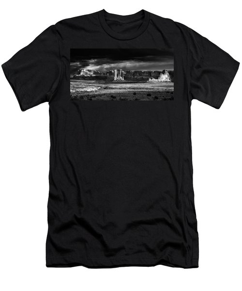 Arches Panorama Men's T-Shirt (Slim Fit) by John McArthur