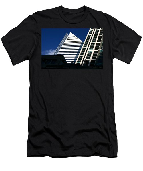 Architectural Pyramid Men's T-Shirt (Athletic Fit)