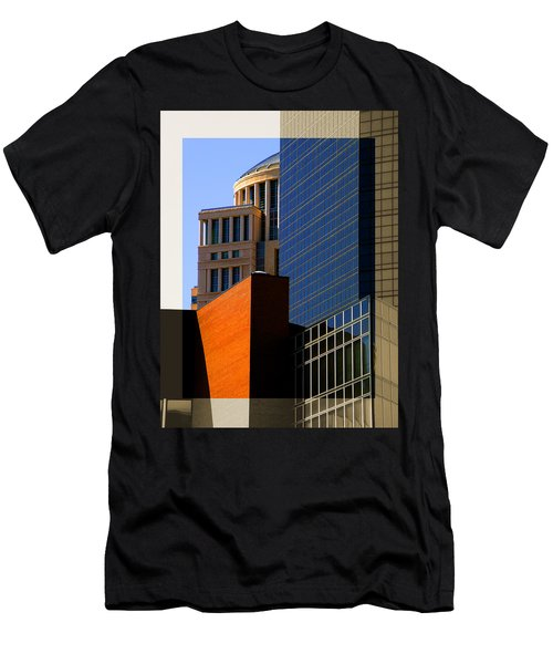 Architectural Stone Steel Glass Men's T-Shirt (Athletic Fit)