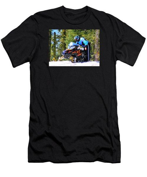 Arctic Cat Snowmobile Men's T-Shirt (Athletic Fit)