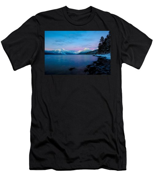 Arctic Slumber Men's T-Shirt (Slim Fit) by Aaron Aldrich