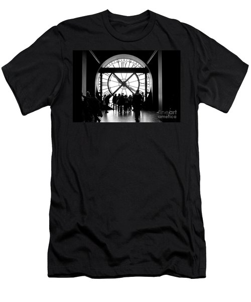 Are We In Time... Men's T-Shirt (Athletic Fit)