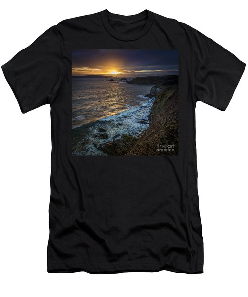 Ares Estuary Mouth Galicia Spain Men's T-Shirt (Athletic Fit)