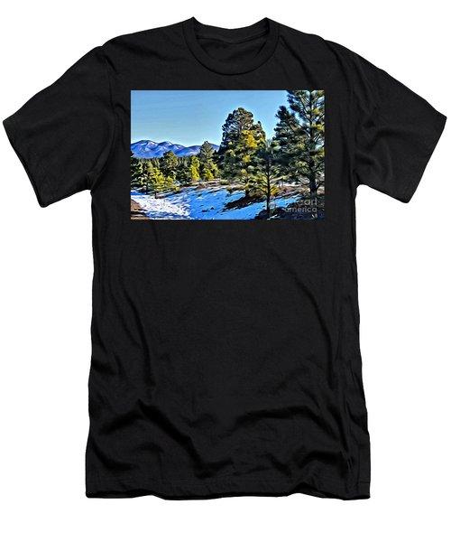 Arizona Winter Men's T-Shirt (Athletic Fit)
