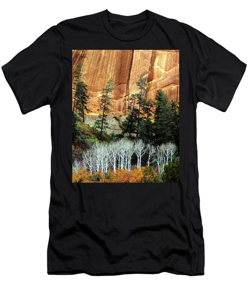 Arizona's Betatkin Aspens Men's T-Shirt (Athletic Fit)