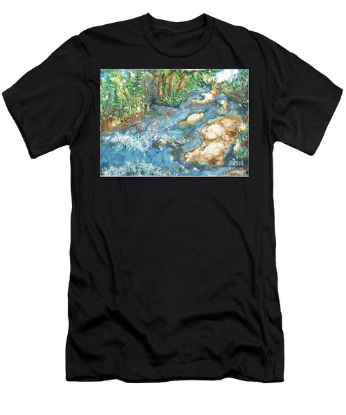 Arkansas Stream Men's T-Shirt (Athletic Fit)