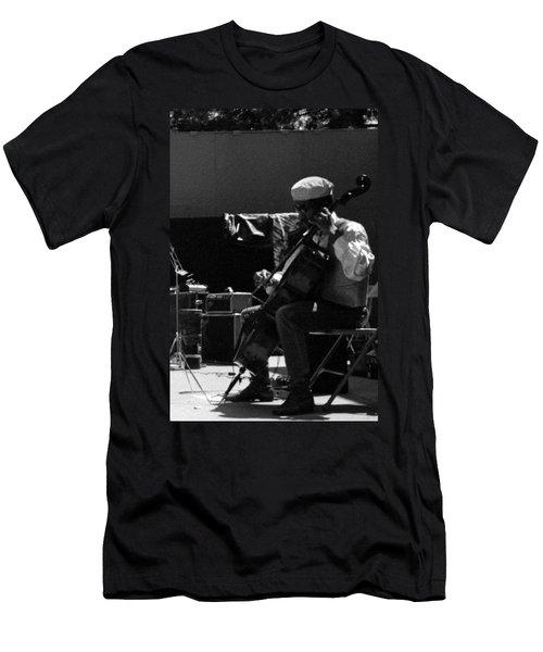 Arkestra Cellist Uc Davis Quad Men's T-Shirt (Athletic Fit)