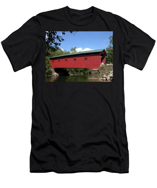 Arlington Bridge 2526a Men's T-Shirt (Athletic Fit)