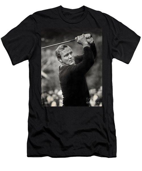 Arnold Palmer Pro-am Golf Photo Pebble Beach Monterey Calif. Circa 1960 Men's T-Shirt (Athletic Fit)