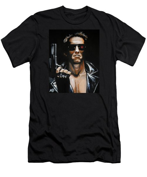 Arnold Schwarzenegger - Terminator Men's T-Shirt (Athletic Fit)