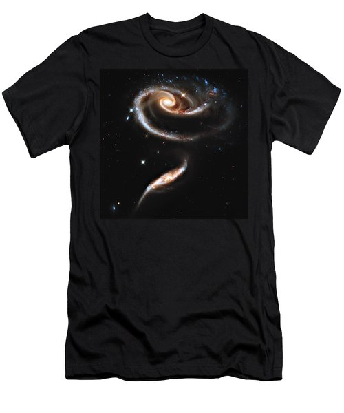 Arp 273 Rose Galaxies Men's T-Shirt (Athletic Fit)