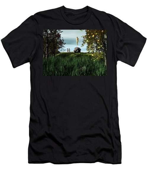 Arrival Of The Deceiver Men's T-Shirt (Slim Fit) by John Alexander