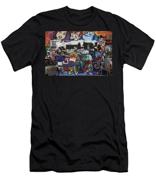 Art Alley 4 Men's T-Shirt (Athletic Fit)
