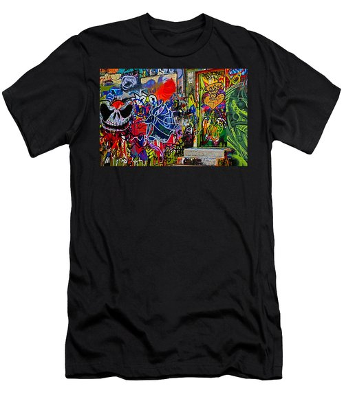 Art Alley Three Men's T-Shirt (Athletic Fit)