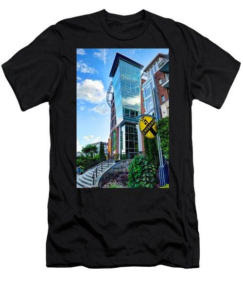 Art Crossing Men's T-Shirt (Athletic Fit)