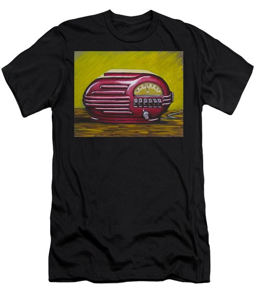 Art Deco Radio Men's T-Shirt (Athletic Fit)