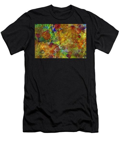 Art Glass Overlay Men's T-Shirt (Athletic Fit)