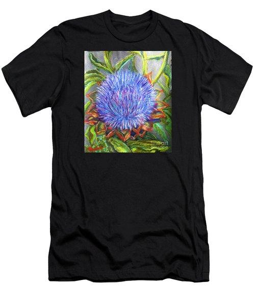 Artichoke Blossom Men's T-Shirt (Athletic Fit)