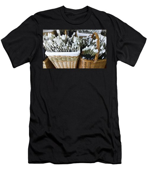 Artist Brushes Men's T-Shirt (Athletic Fit)