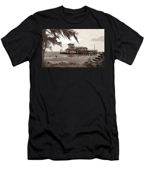 Tugboat From Louisiana Katrina Men's T-Shirt (Athletic Fit)