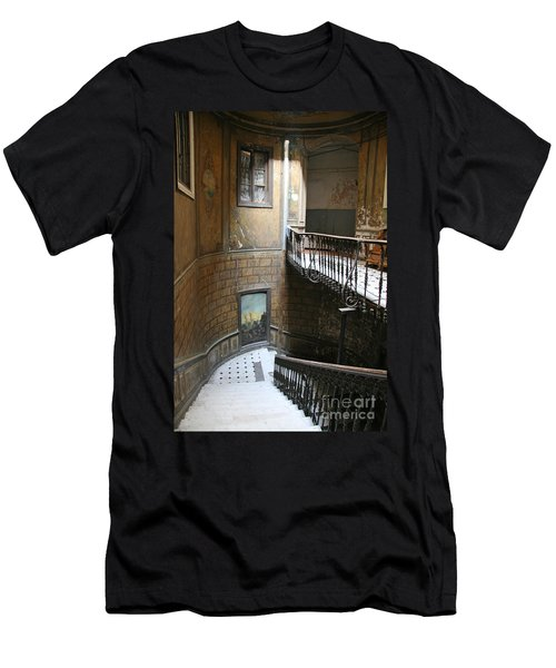 Artistic Staircase In Tbilisi Men's T-Shirt (Athletic Fit)