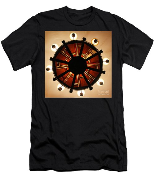 Arts And Crafts Chandelier At Summit Inn Men's T-Shirt (Athletic Fit)
