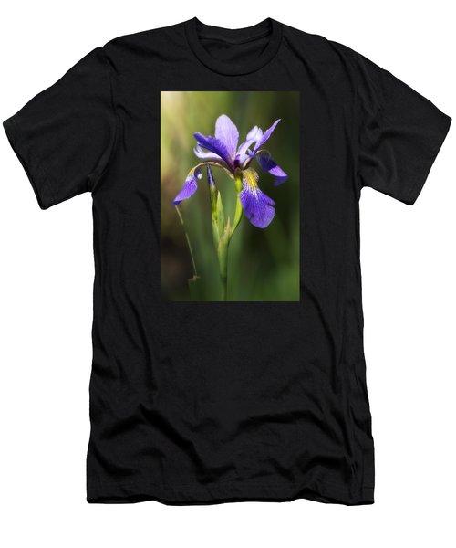 Artsy Iris Men's T-Shirt (Athletic Fit)
