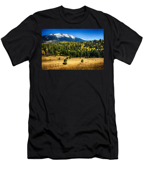 As Fall Arrives In Arizona  Men's T-Shirt (Athletic Fit)