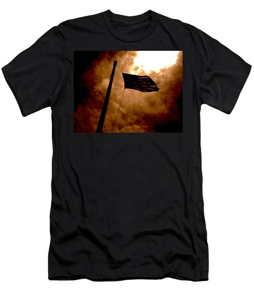 Ascend From Darkness Men's T-Shirt (Slim Fit) by Paulo Guimaraes
